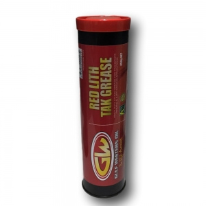 Gulf Western Red LithTak Grease 450g Cartridge