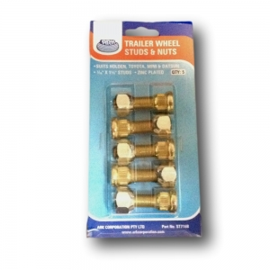 Wheel Studs & Nuts (Pack Of 5)