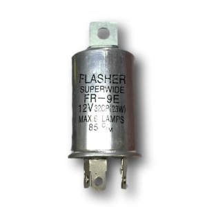 12V 3 Pin Flasher 68203BL