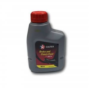 Caltex Brake & Clutch Fluid Dot 4 500ml