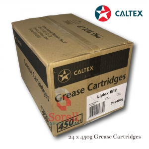 Caltex Lipex EP2 450g Grease Cartridge (Box of 24)