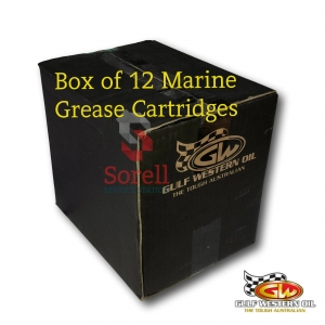 Gulf Western Marine Grease Cartridge 450g (Box Of 12)