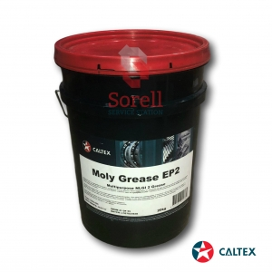 Caltex Moly Grease EP2 20kg Grease Tub