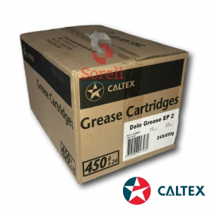 Caltex Delo Grease EP2 450g Grease Cartridge (Box of 24)