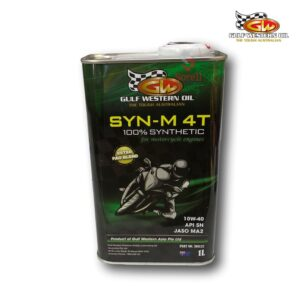 SYN-M 4T 100% Synthetic – Motorcycle Oil 1L