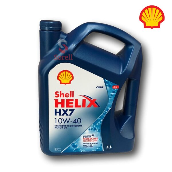 Shell Helix HX7 Engine Oil 10W40 5 Litre